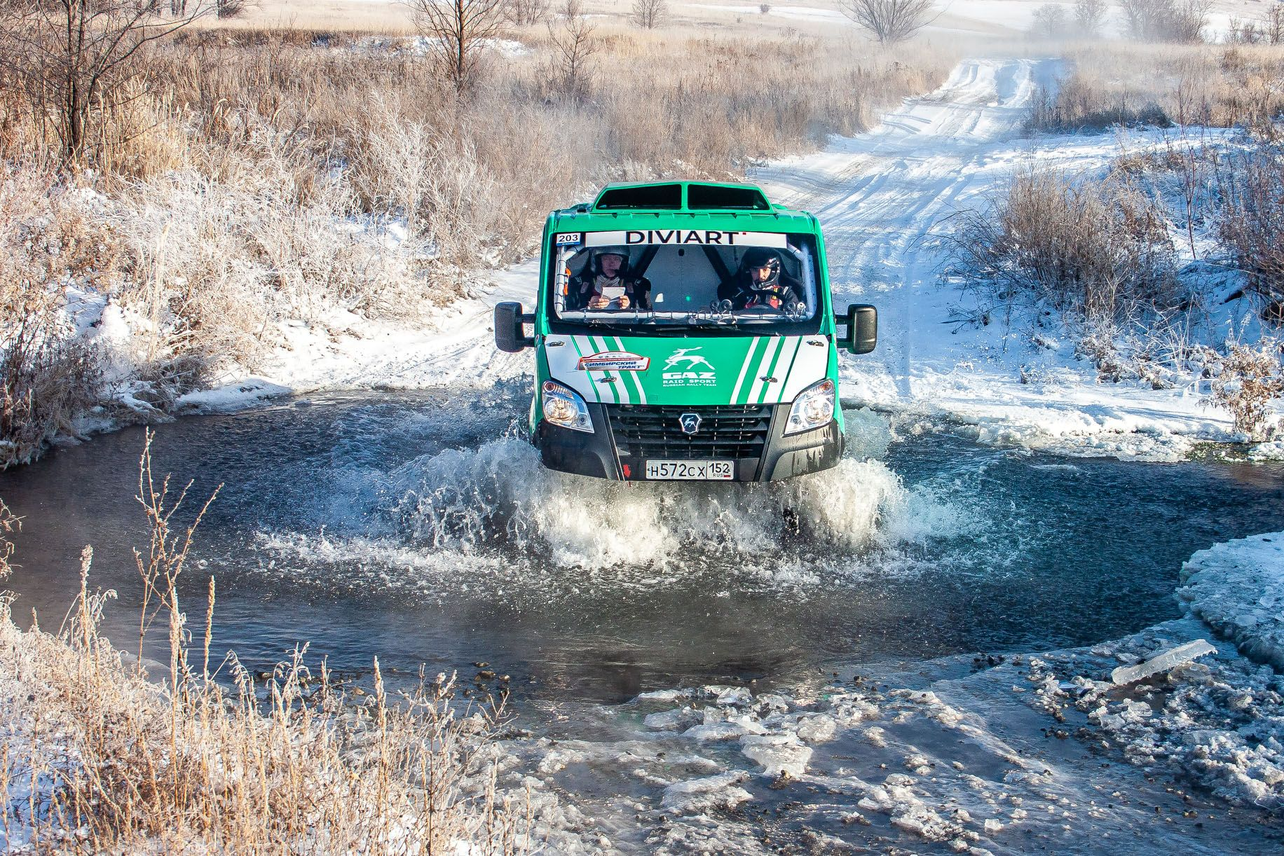 GAZelle NEXT and GAZ Raid Sport: double victory at the championship in the IV stage of Russia rally-raid championship