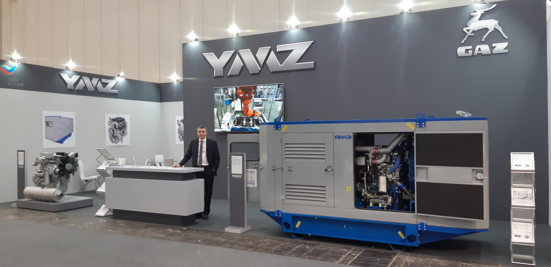 Yaroslavl Motor Plant showcases its powertrains for farming and agriculture at AGRITECHNICA 2019 in Germany