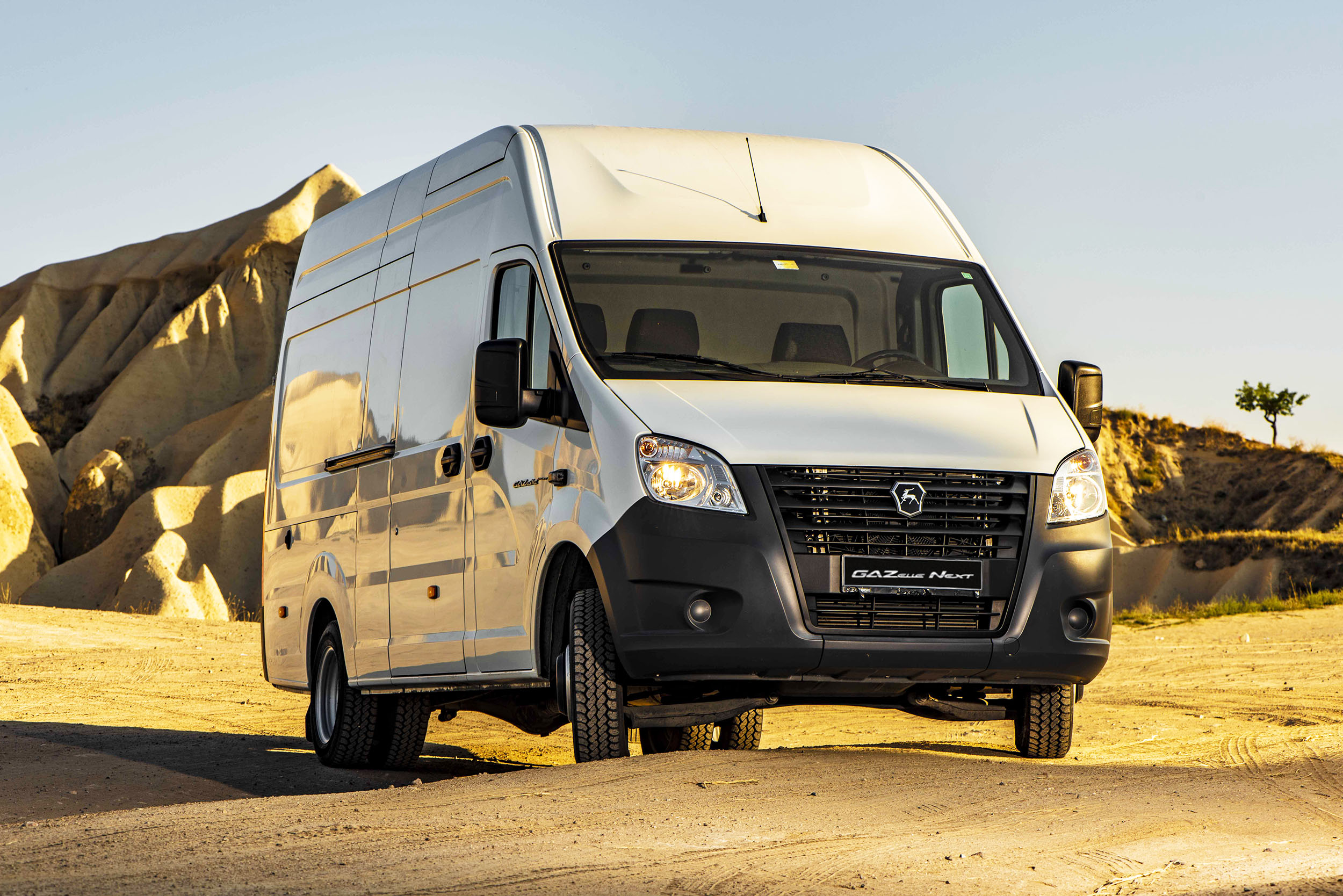 New GAZelle NEXT panel van is certified for Morocco